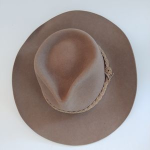 Akubra Vintage Snowy River Pure Rabbit Fur Hat